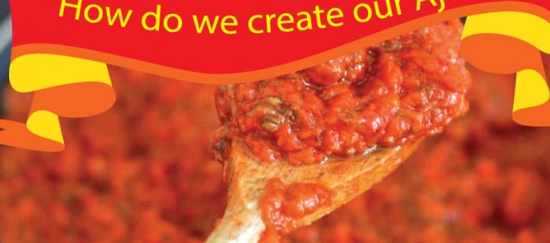 How do we create our Ajvar?